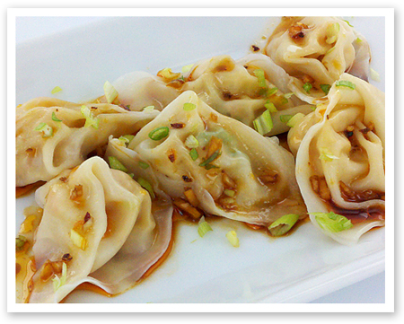 Szechuan / Sichuan Red Oil Wonton (Wonton in Chili Oil) | Food & Whine
